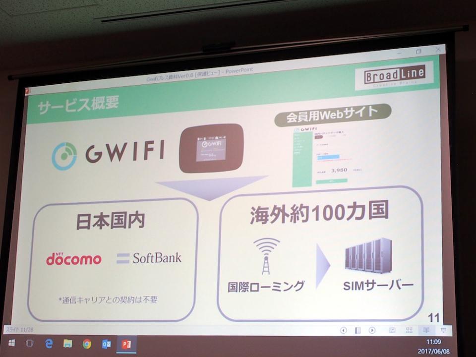 世界100カ国で使えるクラウド型SIM搭載のWi-Fiルーター「GWiFi」が日本上陸! 3番目の画像