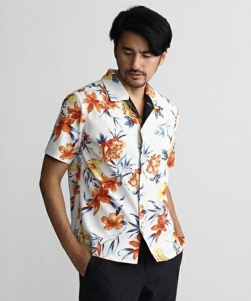 この夏マストバイ! 個性的なオープンカラーシャツ最新まとめ 4番目の画像