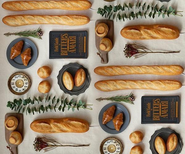 楽しくて美しいインテリアライト、それは本物のパンを使った「パンプシェード」でした。 2番目の画像