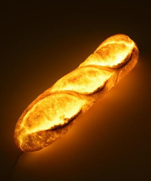 楽しくて美しいインテリアライト、それは本物のパンを使った「パンプシェード」でした。 9番目の画像