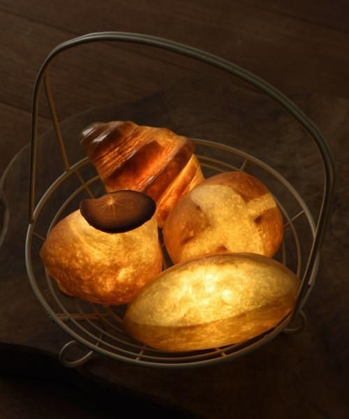 楽しくて美しいインテリアライト、それは本物のパンを使った「パンプシェード」でした。 4番目の画像
