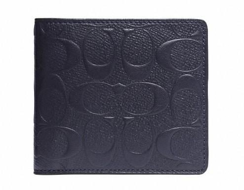 丈夫でハイセンス。永く愛せるCOACHの二つ折り財布 1番目の画像