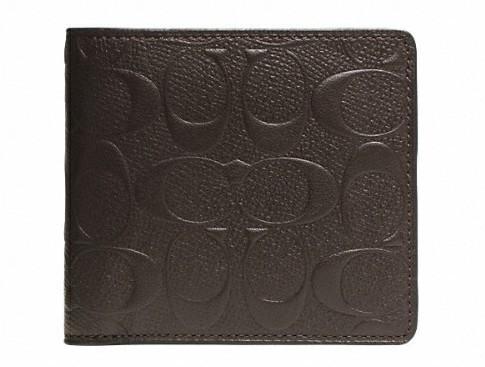 丈夫でハイセンス。永く愛せるCOACHの二つ折り財布 2番目の画像