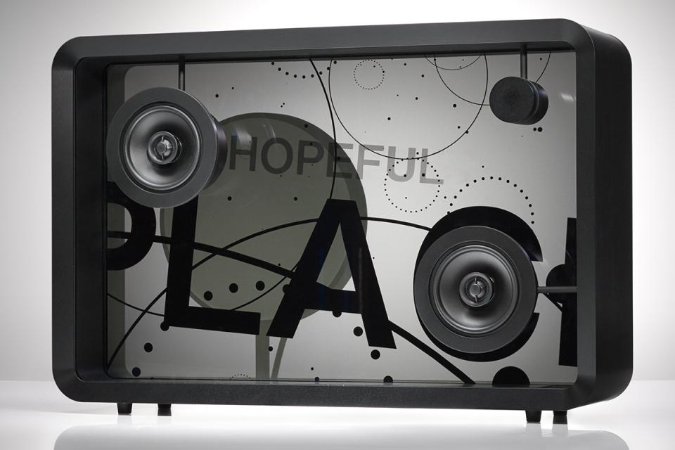 好きな音楽を目に焼き付ける。歌詞が見える次世代型スピーカー「Lyric Speaker」 2番目の画像
