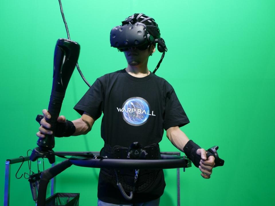 VRで遊ぶ近未来スポーツ「WARP BALL」がテレビ朝日のサマステに登場!1対1の空中戦を体感 4番目の画像