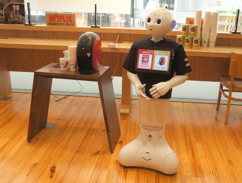 Pepperがコーヒーでおもてなししてくれる「ロボカフェ」に行ってきた 2番目の画像
