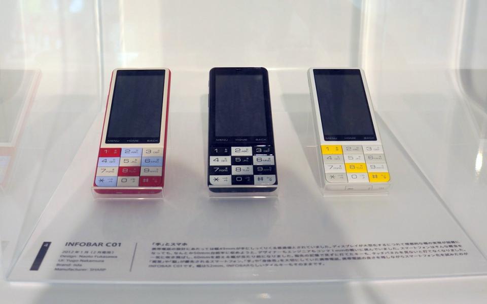au Design projectの15年がわかる「ケータイの形態学 展」に行ってみよう 5番目の画像