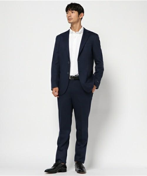 【完全版】王道「ネイビースーツ」の着こなし術:ネイビースーツの基礎からワンランク上のおしゃれまで 3番目の画像