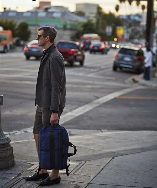 リュックで快適な通勤スタイル! スーツに似合う上質な3WAYバッグ 8番目の画像