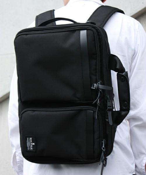 リュックで快適な通勤スタイル! スーツに似合う上質な3WAYバッグ 10番目の画像