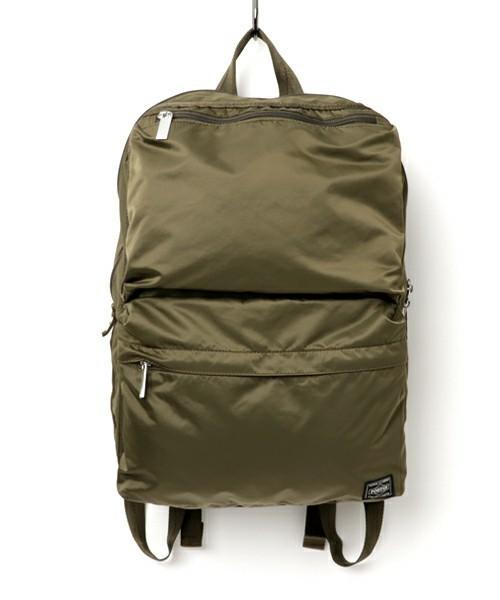 ミリタリーテイストにチャレンジするならPORTER FLAME新作バッグを即買い! 1番目の画像