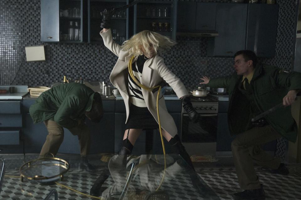 まるでパンクロックのMV? シャーリーズ・セロン主演のスパイ映画「アトミック・ブロンド」 1番目の画像