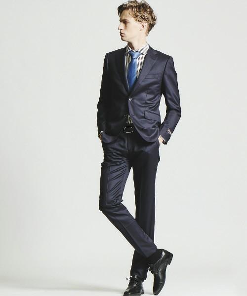 【完全版】王道「ネイビースーツ」の着こなし術:ネイビースーツの基礎からワンランク上のおしゃれまで 21番目の画像