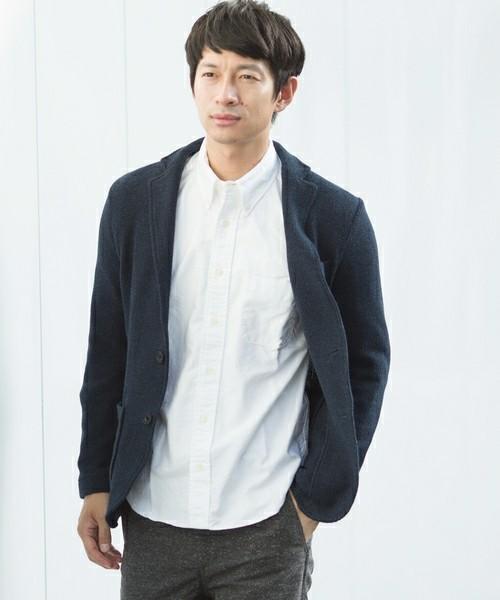 1万円台の救世主。羽織ればモテるSHIPSの最強ニットジャケット&着こなしテク 2番目の画像