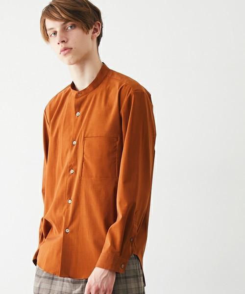 ファッショニスタはこれを着ていた!まわりと差がつくバンドカラーシャツ特集 2番目の画像