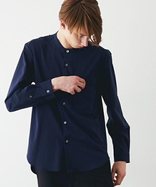 ファッショニスタはこれを着ていた!まわりと差がつくバンドカラーシャツ特集 3番目の画像