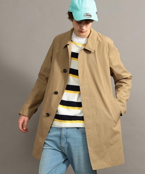 秋冬欠かせない「ステンカラーコート」を人気ブランド別コーディネートでチェック! 1番目の画像