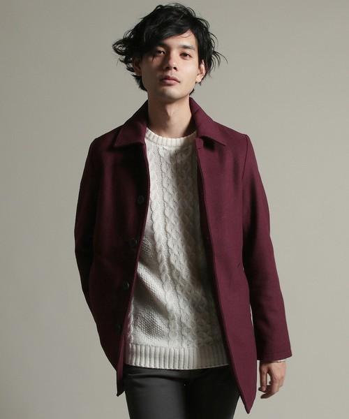 秋冬欠かせない「ステンカラーコート」を人気ブランド別コーディネートでチェック! 3番目の画像