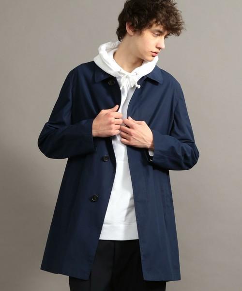秋冬欠かせない「ステンカラーコート」を人気ブランド別コーディネートでチェック! 4番目の画像