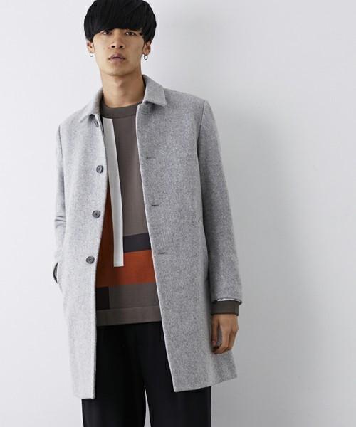 秋冬欠かせない「ステンカラーコート」を人気ブランド別コーディネートでチェック! 5番目の画像