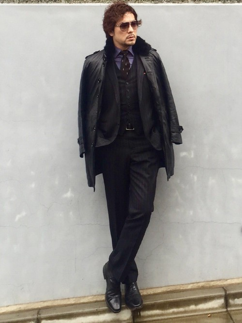 お洒落にスーツ×ベストを着こなすコツ。スーツ×ベストのおすすめコーデ集 9番目の画像