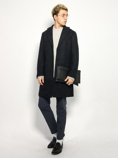 """コートは""""ロング丈""""がトレンド!今マネしたい、ロングコートを使った大人コーデ特集 3番目の画像"""