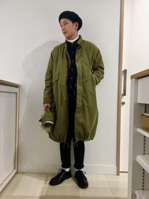 """コートは""""ロング丈""""がトレンド!今マネしたい、ロングコートを使った大人コーデ特集 6番目の画像"""