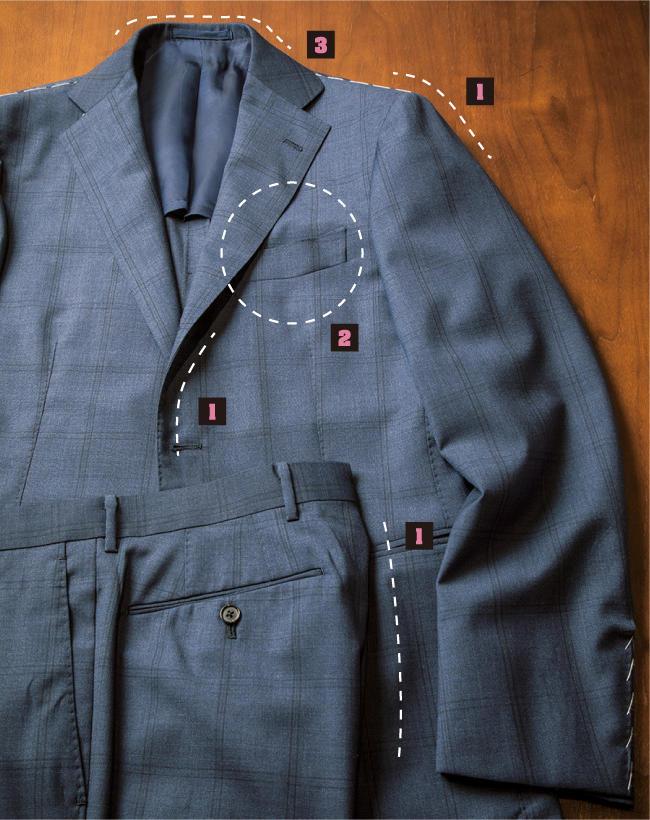 リングヂャケット マイスター青山店・店長に聞く『これだけはチェックしたい店頭での賢いスーツ選び』 2番目の画像