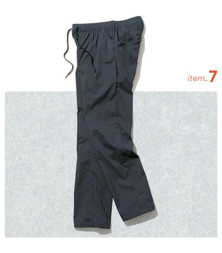 大人のSmart Outdoor服入門「ダークトーンのアウトドア服で大人感を演出!」 9番目の画像
