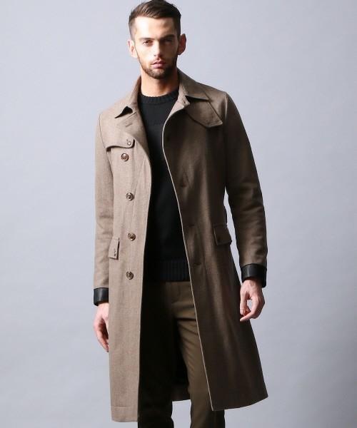 エレガントなのに男っぽい。チェスター&ステンカラーのロングコート着こなし術 1番目の画像