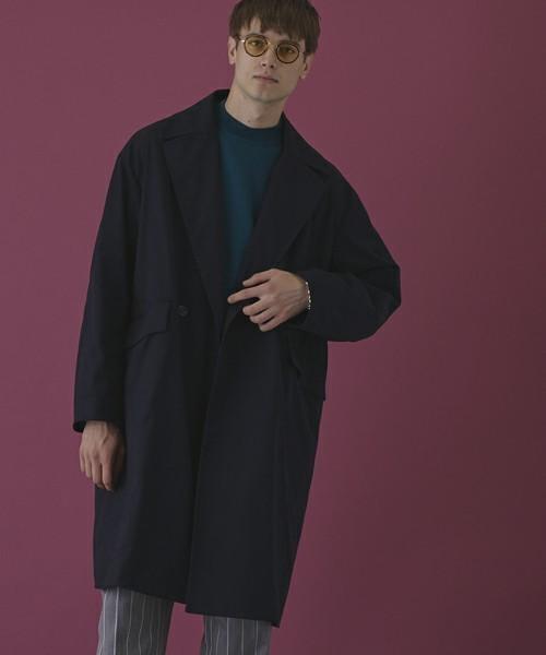 エレガントなのに男っぽい。チェスター&ステンカラーのロングコート着こなし術 2番目の画像