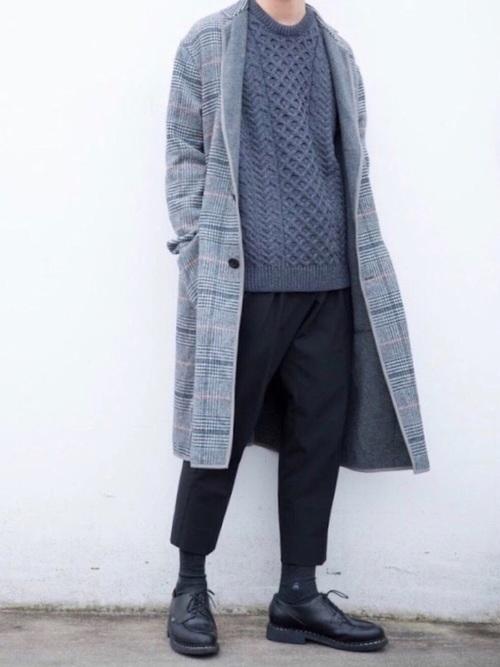 エレガントなのに男っぽい。チェスター&ステンカラーのロングコート着こなし術 7番目の画像