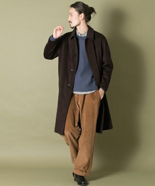 エレガントなのに男っぽい。チェスター&ステンカラーのロングコート着こなし術 10番目の画像