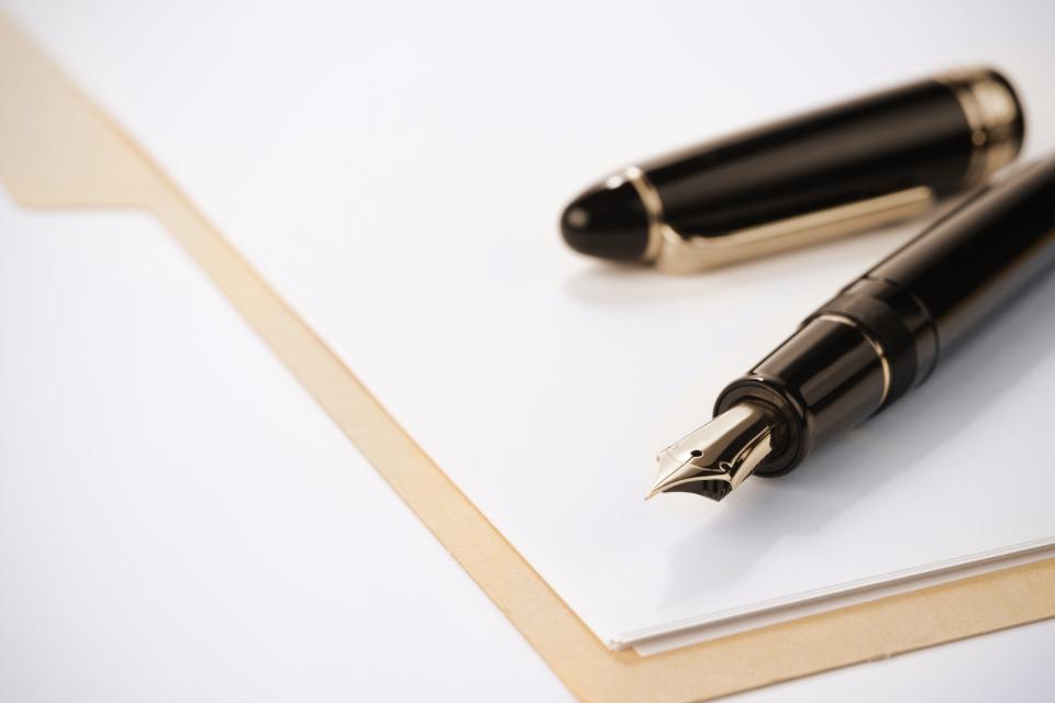 封筒で書類を郵送するときの「行」の書き方マナー 2番目の画像
