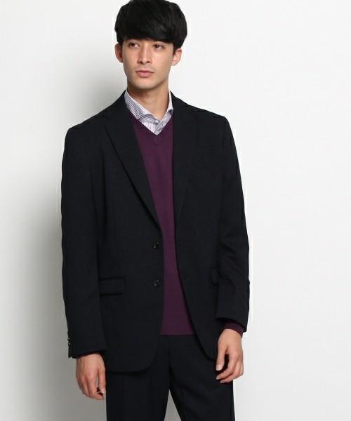 セーター×シャツ×ジャケットのビジカジメンズコーデ集 5番目の画像