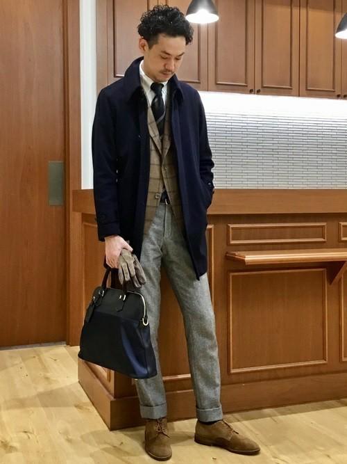 秋冬スーツのお供「メンズ手袋」を展開するブランド3選。スーツスタイルをかっこよく、あったかく。 3番目の画像