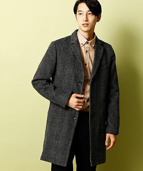 シックな魅力がたまらないクラシックアウター。おすすめのグレンチェックコートと着こなし術 2番目の画像