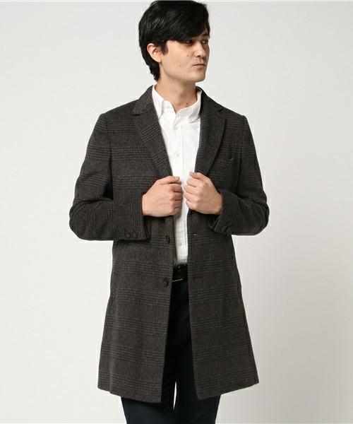 シックな魅力がたまらないクラシックアウター。おすすめのグレンチェックコートと着こなし術 3番目の画像