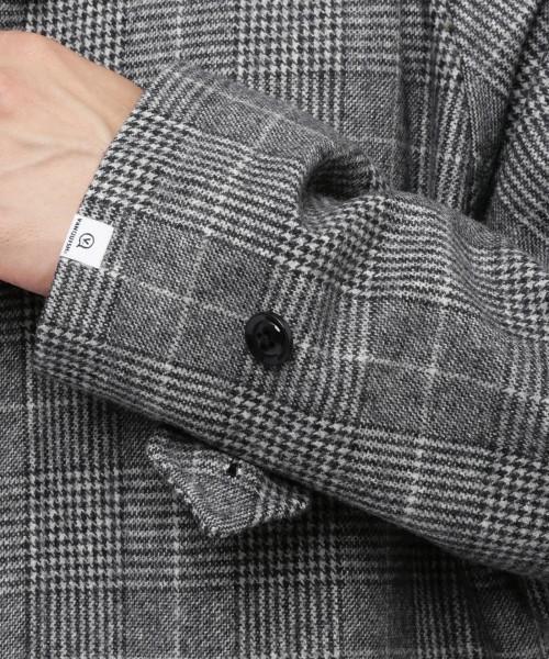 シックな魅力がたまらないクラシックアウター。おすすめのグレンチェックコートと着こなし術 7番目の画像