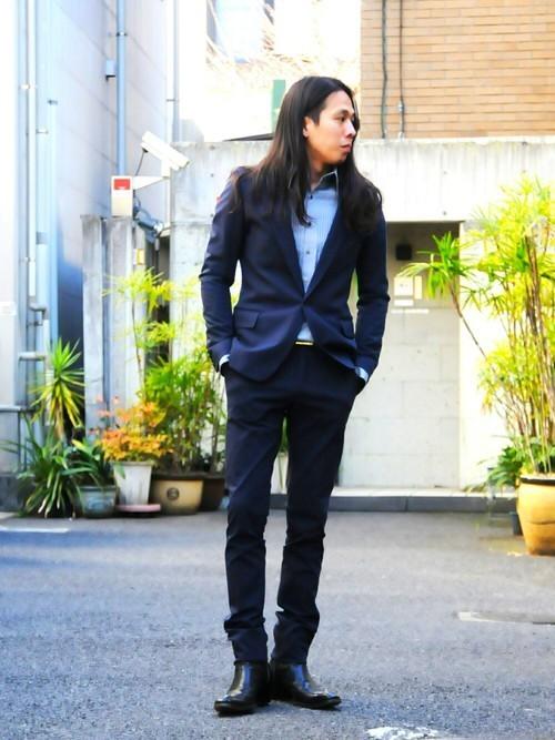 冬の冷たいビジネスマンの足元に「ブーツ」:スーツ×ブーツを履きこなすための取り扱い説明書 1番目の画像