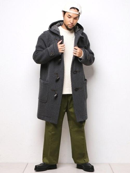 「大人だからこそ」のダッフルコート。子どもっぽくならない、メンズダッフルコートの着こなし術 6番目の画像
