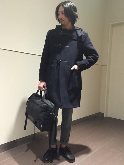 「大人だからこそ」のダッフルコート。子どもっぽくならない、メンズダッフルコートの着こなし術 2番目の画像