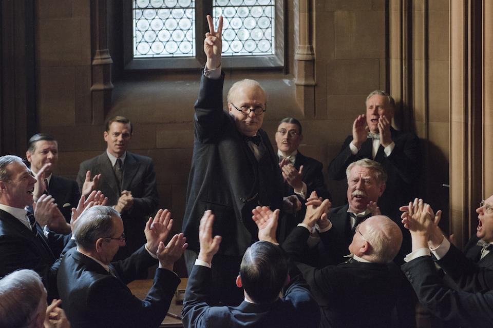 アカデミー賞レース第3弾「ウィンストン・チャーチル ヒトラーから世界を救った男」 1番目の画像