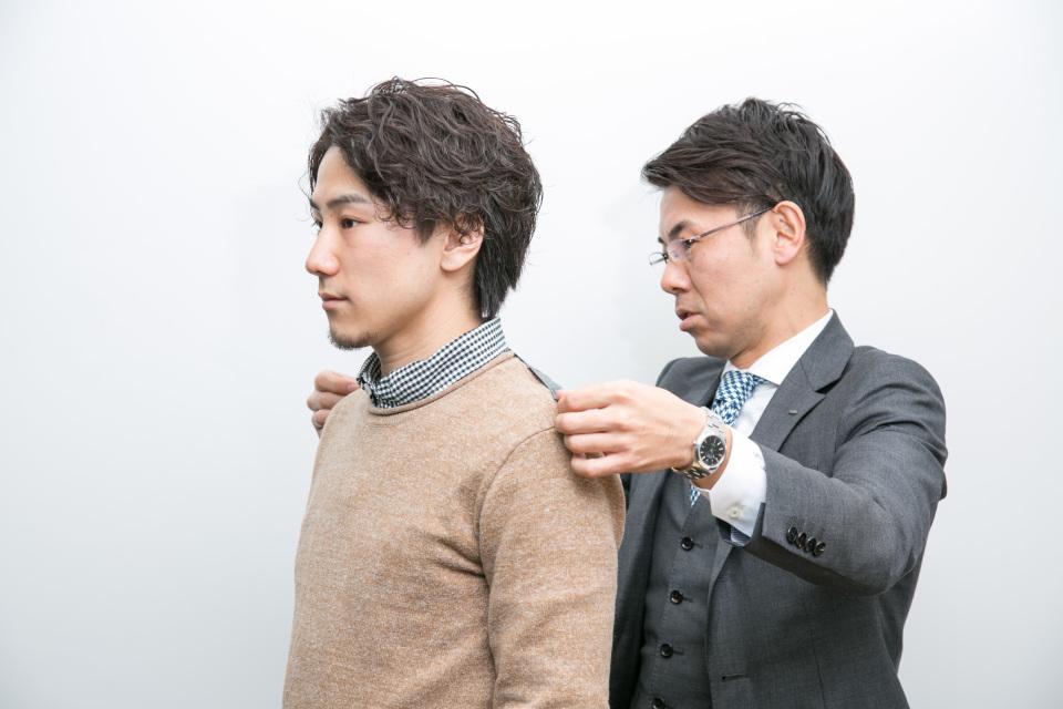 新卒営業マンが3万円からオーダーメイドスーツがつくれる「スマートテーラー」でビシっと大変身! 8番目の画像