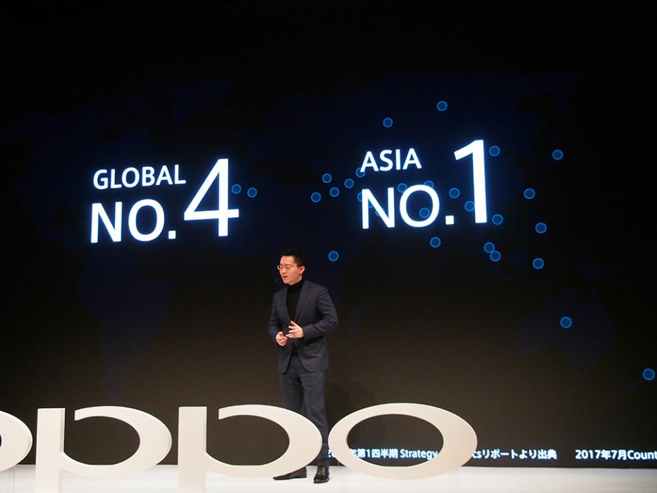 世界シェア4位中国スマホメーカー「OPPO」が日本上陸!大人気のカメラ機能は日本でヒットするか? 2番目の画像