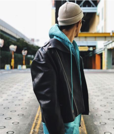 大人のライダースジャケット着こなし術。ライダースジャケットを使ったおすすめコーデ10選 9番目の画像