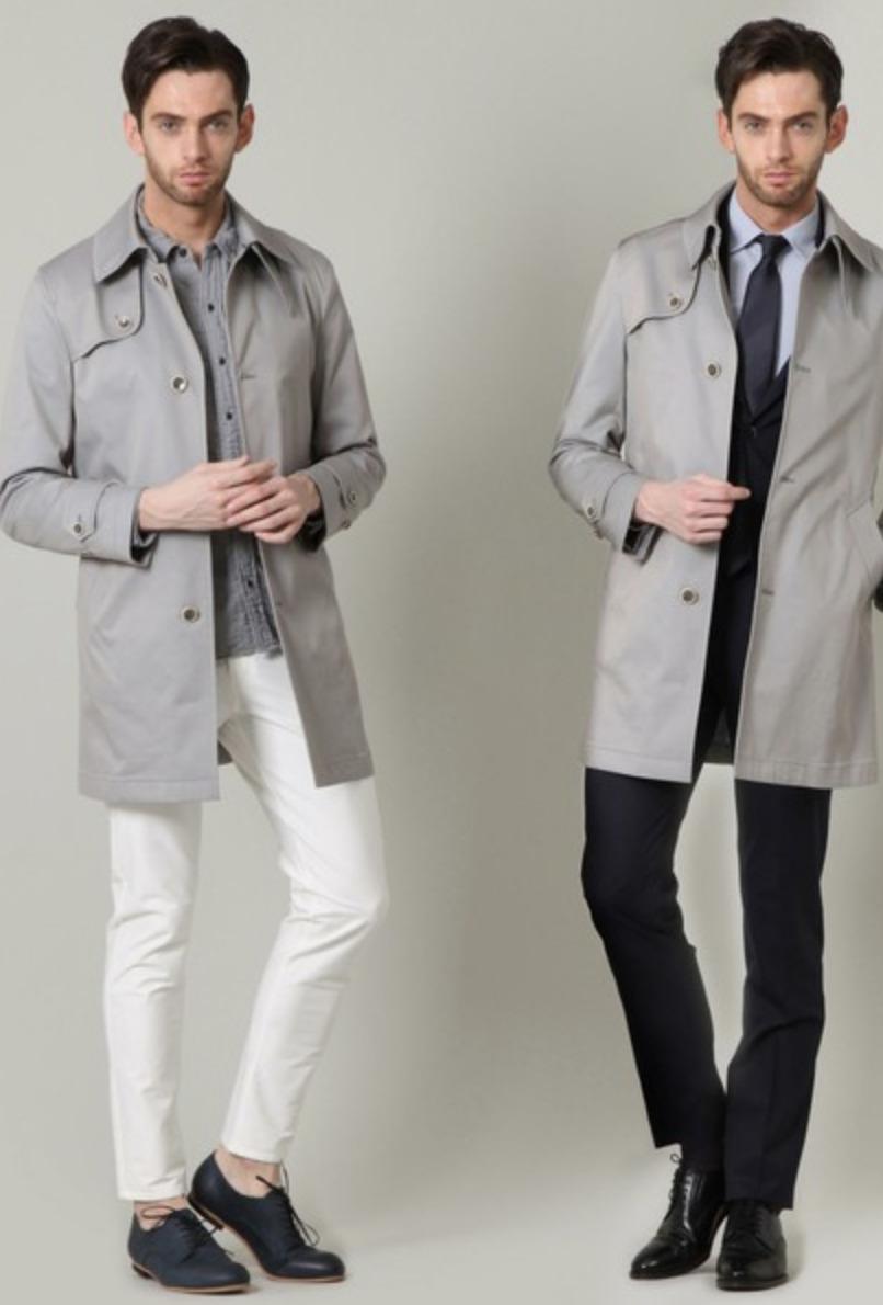 メンズスプリングコートの着こなし&着回せるコートを選ぶコツ【ビジネス兼用】 2番目の画像