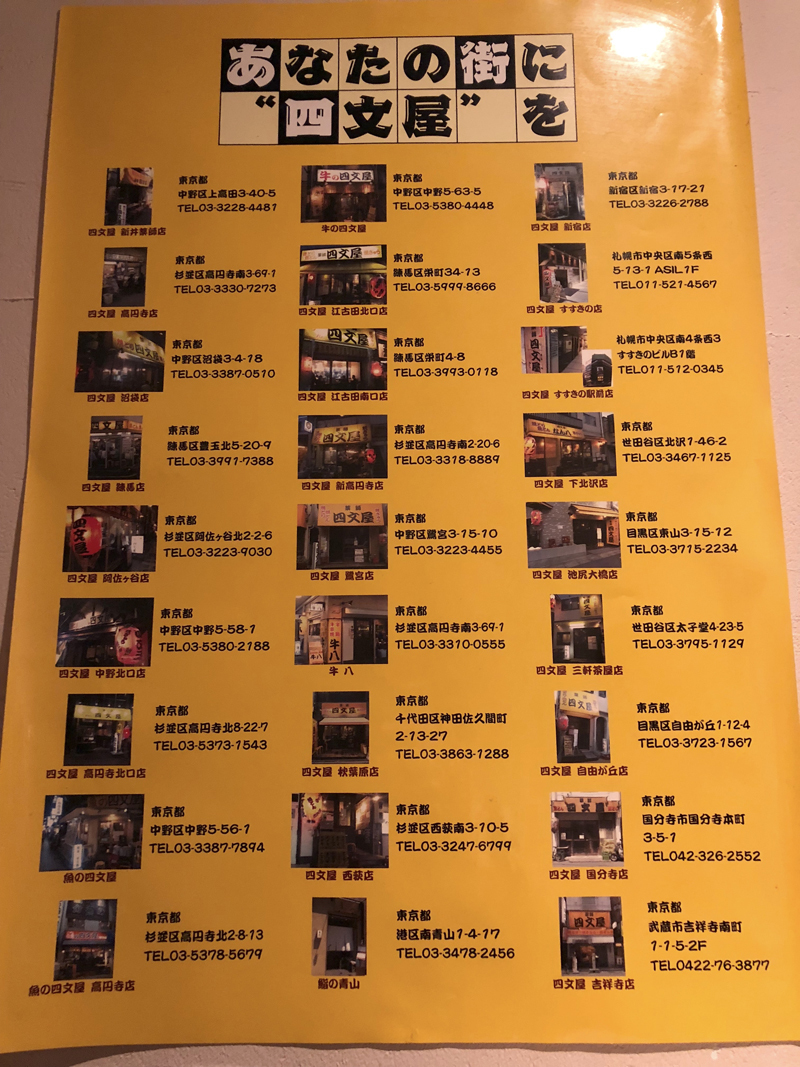 高円寺、アルコールコール。ミノ刺しと冷製レバーが食べれる牛専門店「牛八」 14番目の画像