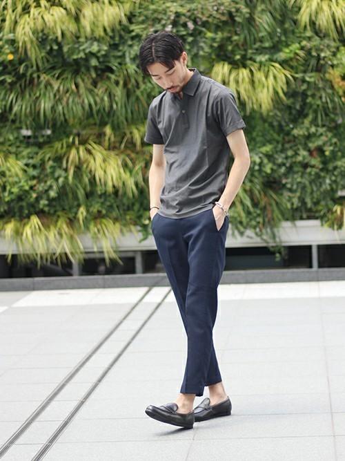 ポロシャツ選びのコツは「生地」にあり!大人メンズのポロシャツコーデ18選 1番目の画像