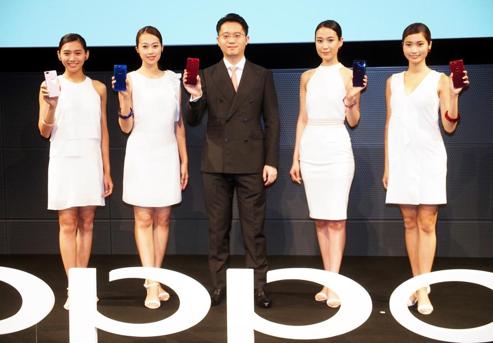 """石野純也のモバイル活用術:中国スマホメーカーOPPOから新機種、そこから見えた日本市場に賭ける""""本気"""" 1番目の画像"""